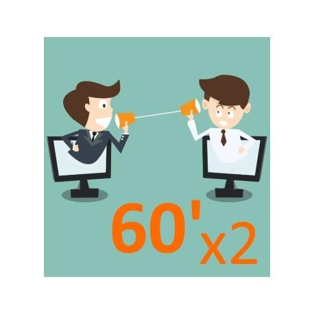 Echanger avec un expert durant 2x60 minutes